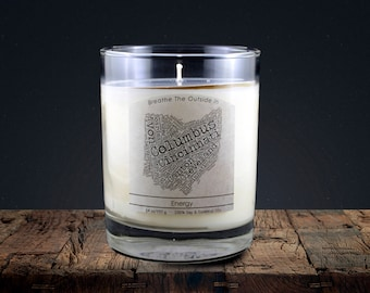 Ohio | 100% soy wax & essential oil candle | Classic Tumbler | 14oz.
