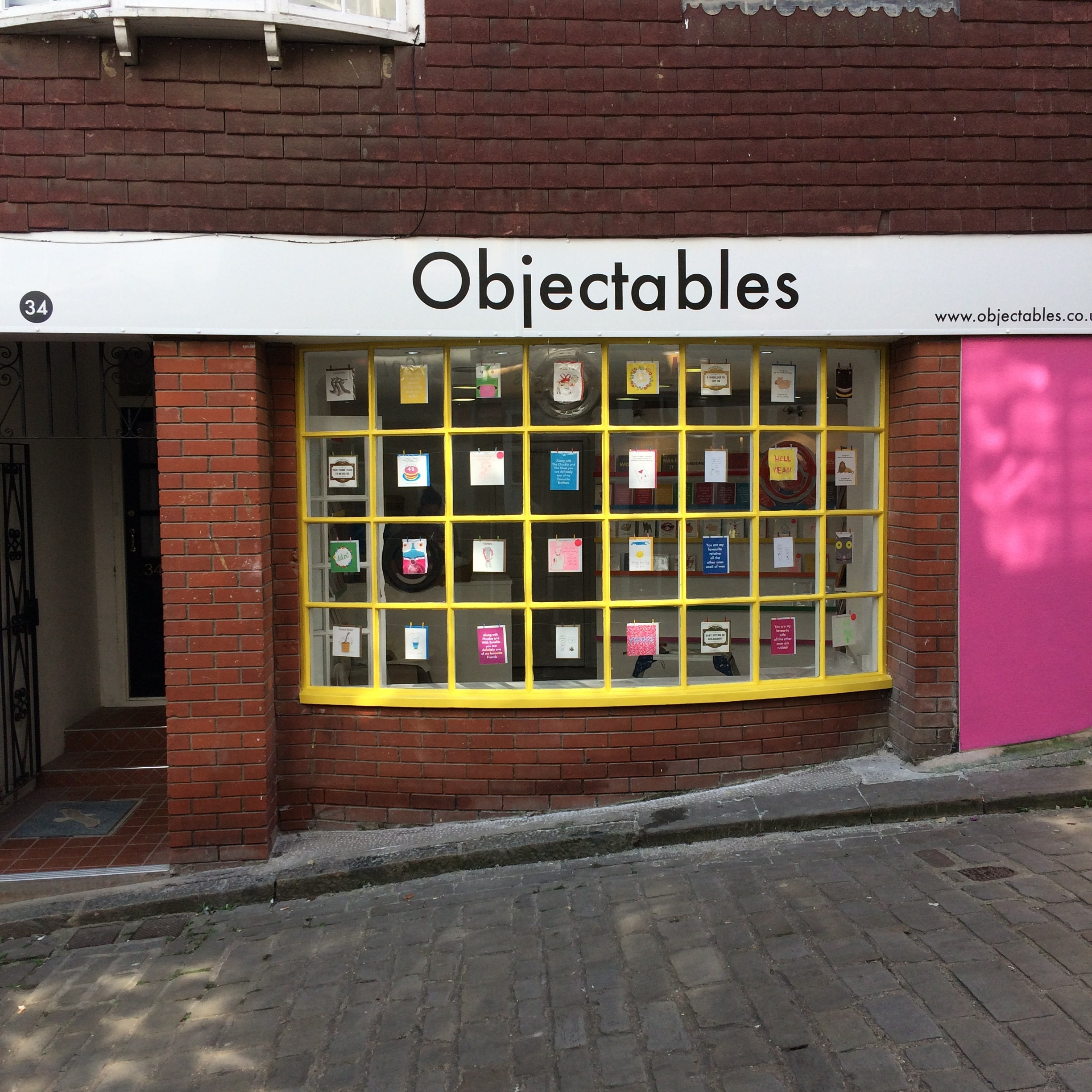 Objectables on The Old High Street, Folkestone