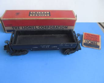 LIONEL  No.  3469X Automatic Dump  Car  -LIONEL Car - Train Excessory - with box