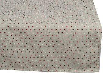 "Square tablecloth fabric ""Confetis"" 150X150cm"