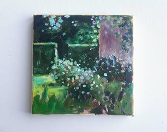 original acrylic painting, beach painting, sea painting, summer painting, small painting, acrylics on canvas, mini art