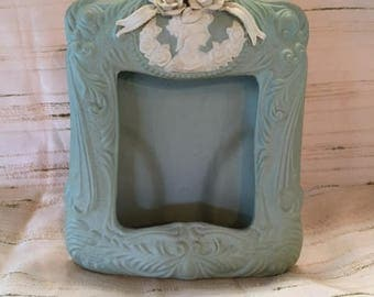 Sage Victorian Ceramic Picture Frame