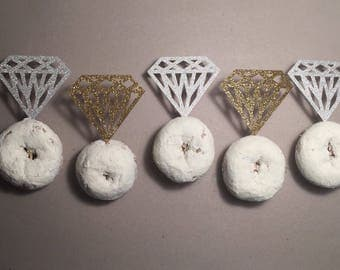Diamond Donut Toppers