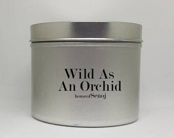 Wild Orchid Soy Candle