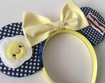 Egg-cited for Breakfast Mouse Ears