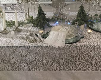 Table Lace Tablecloth