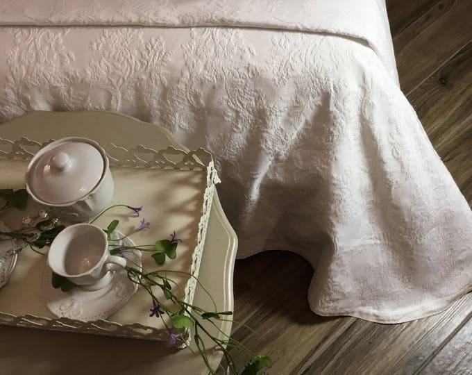 """""""RAMAGE"""" Cotton bedspread"""
