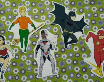 DC Comics - Justice League - sticker set