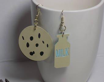 Cookies and Milk Earrings