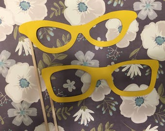 Photo booth glasses