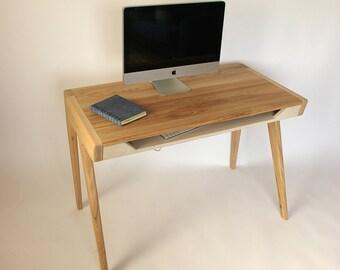 Massivem Holz Computertisch Mit Schublade Für Tastatur, Büromöbel,  Home Office, Büro,