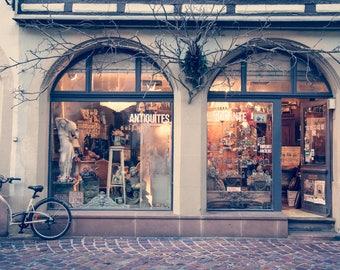 "France Photography, Colmar Photo, Rue Des Marchands, ""The Antiques Store"""