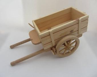 Wood Mini Barrow