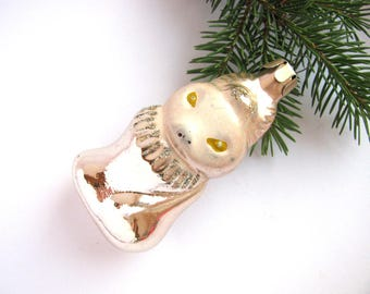 Fox, Soviet Glass Christmas tree ornaments, Decoration, Animal, Christmas bauble, New Year, USSR, Soviet Union, 1970s