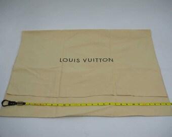 """AUTHENTIC Louis Vuitton Cotton XX-Large Dust Bag 28.75""""x 20.25""""  LF011005"""