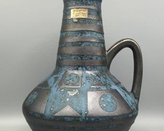 """Carstens Tönnieshof 1507 - 27  Luxus Serie, ,, Ankara """" glaze, Design: von Scholtis, Mid Century Modern 1960s / 1970s  West Germany."""