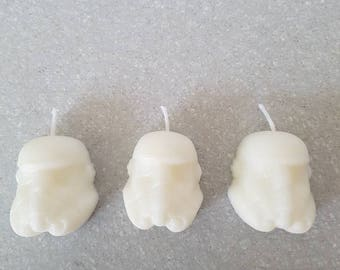 Storm trooper birthday candles x 6