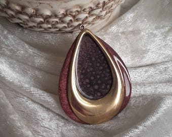 drop pendant is golden plum hand accessory to hang