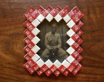 Vintage Folk Art Frame Photo