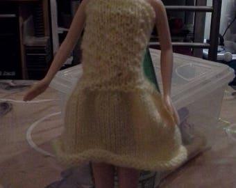 Pretty summer knit barbie dress