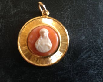 Sacred Heart of Jesus version 2 cameo Locket