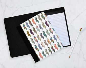 Mustache mania Notebook