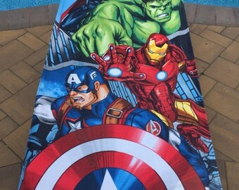 Marvel Avengers Age of Ultron Beach Towel - Personalized Beach Towel