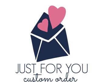 Custom Welcome Stickers for Liz