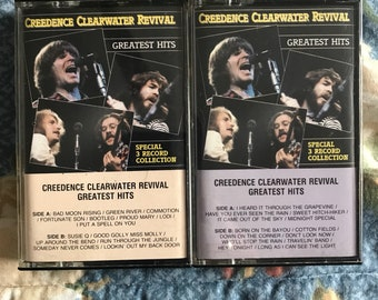 Creedence Clearwater Revival Cassettes