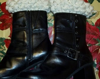 Cute Puff Boot Cuffs for Girls' & Women's Short/Ankle Boots (#86)