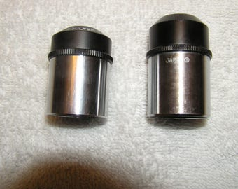 Vintage set of 2 Orthoscopic Telescope Eyepieces from the 1970's