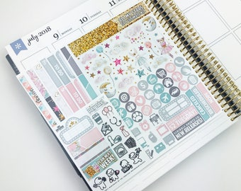 All My Stars // Ultimate Weekly Planner Kit (280+ Planner Stickers)