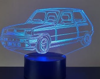 Lamp 3D design: Alpine R5
