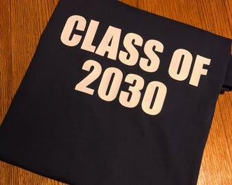 Class Of preschool or kindergarten shirt