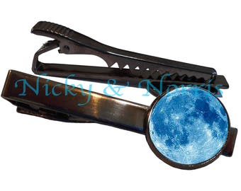 Blue Moon Tie Clip - Made to Order