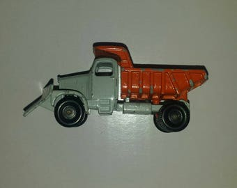 Vintage Matchbox  by Lesney No. 16 - 1964 Scammell Mountaineer Dump Truck/Snow Plow