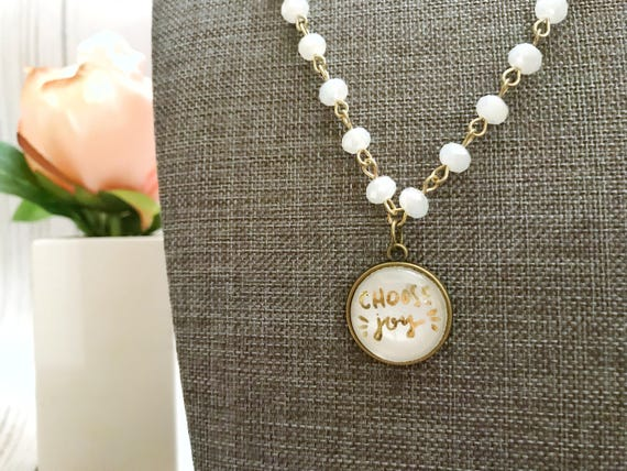 Catholic Jewelry * Catholic Pendant Necklace * Mini Pendant Necklace * Handlettered Pendant Necklace * Gifts for Her