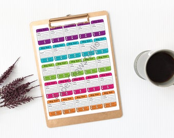 Blog Post Planner Stickers