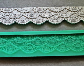 Silicone Mould LACE BOARD Sugarcraft Cake Decorating mold