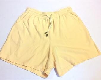 Cherokee Cotton Gym Shorts Sz M