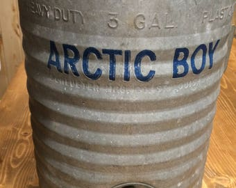 Vintage Artic Boy Cooler: Vintage Decor