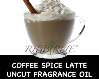 Pure Coffee Spice Latte Uncut Fragrance Oil - FREE SHIPPING SHIP