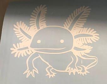 Axolotl Decal