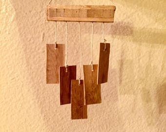 Miniature bamboo wind chime 1/6th scale