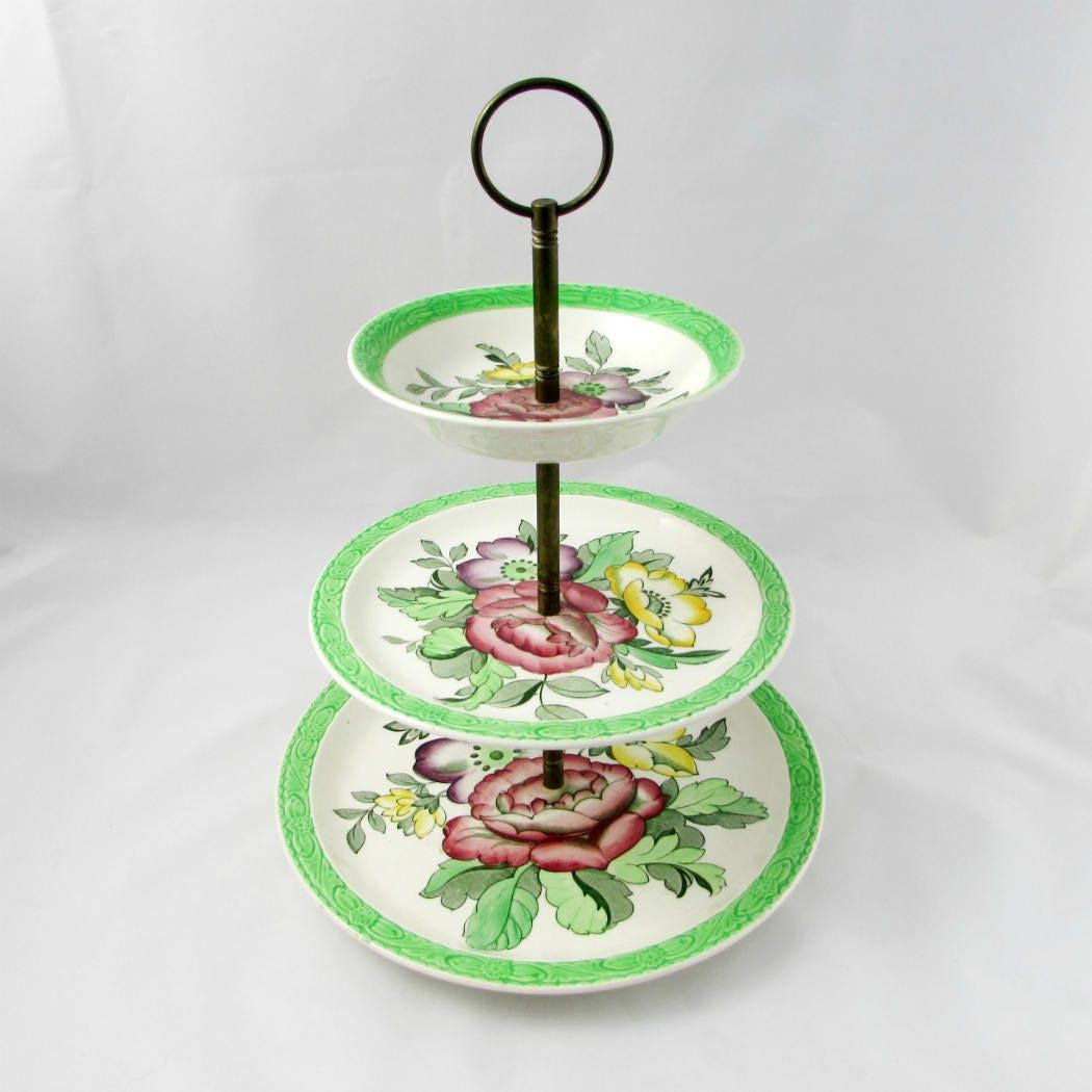 Royal Tudor Ware Cake Stand