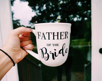 Father of the Bride Mug // Father of the Bride Gift