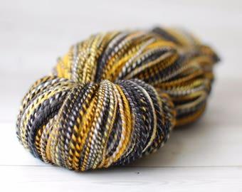Handspun Yarn - dk weight, 2 ply, superwash merino, wool, 348 yards, 4 ounces