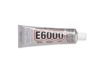 E6000 Adhesive, 1 Ounce Tube, Wholesale Adhesive, Jewelry Cement, USA Seller, Fast Shipping (A103)