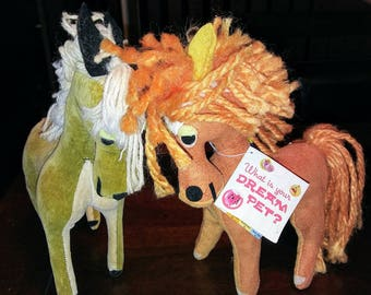 1961 Vintage Dream Pets Horses