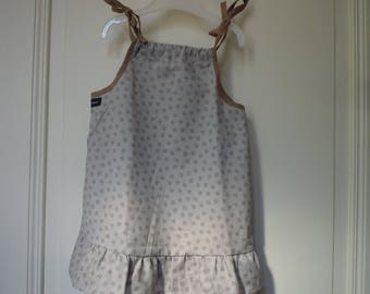 Knotted straps dress, size 18 months / 2 years